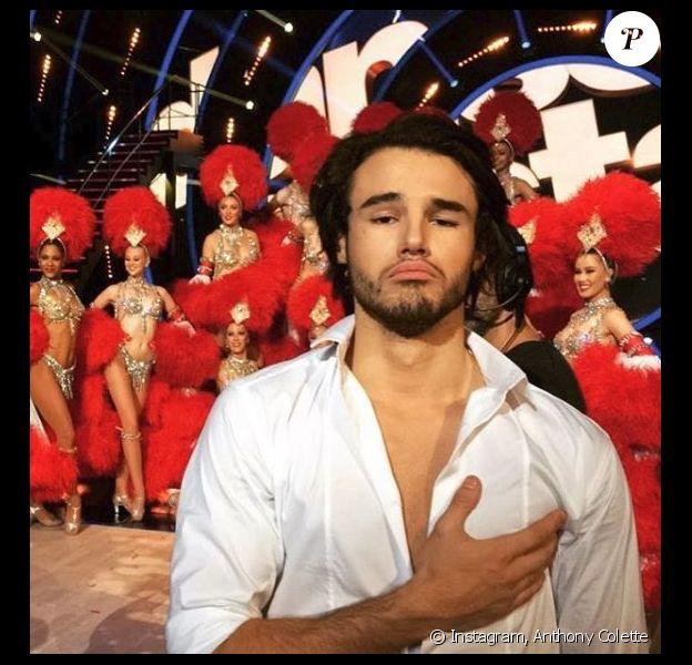 "Anthony Colette de ""Danse avec les stars 8"", Instagram, 2017"