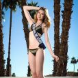 Miss Centre Val-de-Loire en maillot de bain lors du voyage Miss France 2018 en Californie, en novembre 2017.