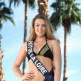 Miss Pays de la Loire en maillot de bain lors du voyage Miss France 2018 en Californie, en novembre 2017.