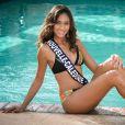 Miss Nouvelle-Calédonie en maillot de bain lors du voyage Miss France 2018 en Californie, en novembre 2017.