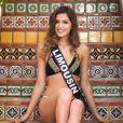 Miss Limousin en maillot de bain lors du voyage Miss France 2018 en Californie, en novembre 2017.