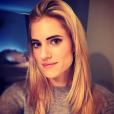 Allison Williams s'est teint les cheveux en blond. Photo publiée sur Instagram le 8 février 2017