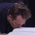 David Hallyday aux obsèques de Johnny Hallyday à Paris. Le 9 décembre 2017.