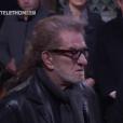Eddy Mitchell aux obsèques de Johnny Hallyday à Paris. Le 9 décembre 2017.