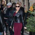 Mariah Carey à l'hôtel Plaza Athénée, à Paris, le 7 décembre 2017.