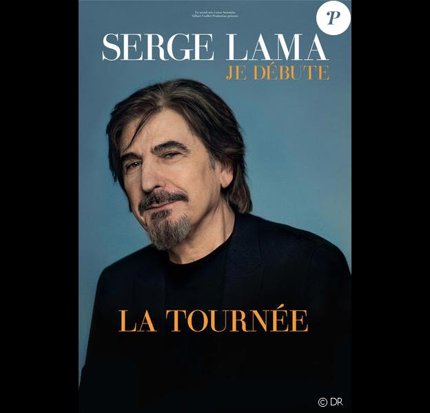 Serge Lama - Je débute - la tournée 2017-2018.