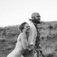 Ronda Rousey and Travis Browne, mariés en août 2017 après deux ans de relation. (Photo Instagram).