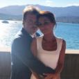 Pierre Hermé et Valérie Franceschi, mariés en juillet 2017 après quatre ans d'amour. Ici lors des noces en Corse.