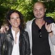 """Mazarine Pingeot et Didier Le Bret, mariés en juillet 2017 après quatre ans d'amour. Ici lors de 19ème édition de """"La Forêt des livres"""" à Chanceaux-près-Loches, le 31 août 2014."""