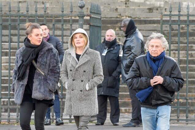 Roman Polanski refoulé de la cérémonie d'hommage à Johnny Hallyday — Vidéo