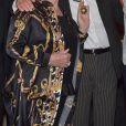 Line Renaud et Robert Charlebois - R. Charlebois a été décoré des insignes de Commandeur de l'ordre des Arts et des Lettres lors d'une cérémonie au Ministère de la Culture à Paris le 12 décembre 2017. © Giancarlo Gorassini/Bestimage