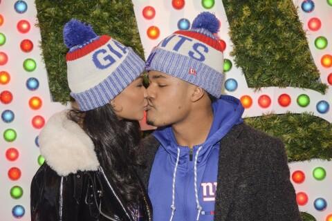 Chanel Iman et Sterling Shepard : Les fiancés font leur première sortie publique