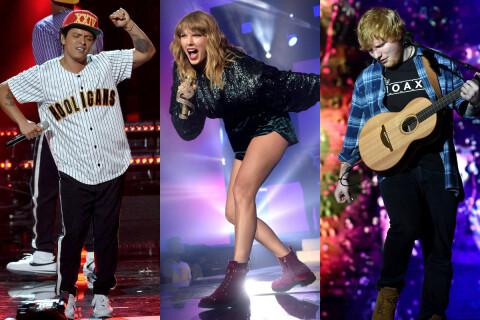 United State of Pop 2017 : Taylor Swift à donf' avec Bruno Mars et Ed Sheeran
