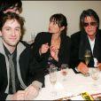 Thomas Dutronc, Sylvie Duval et Jacques Dutronc - Cérémonie des César en 2005 à Paris