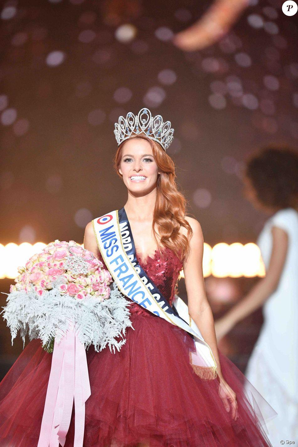 Maëva Coucke élue Miss France 2018, le 16 décembre 2017 à Châteauroux.