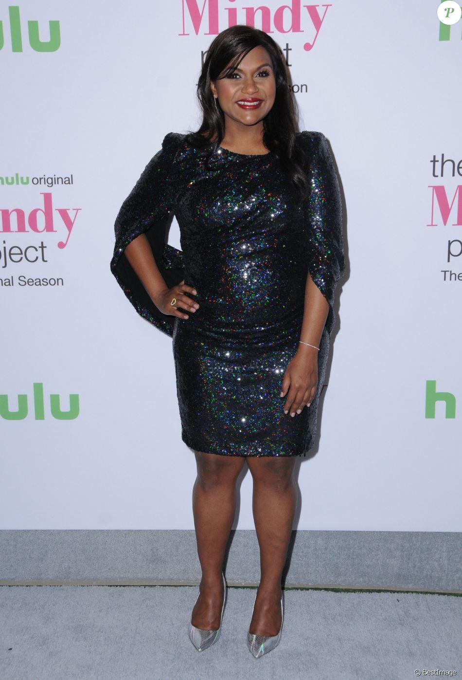 """Mindy Kaling à la première de """"The Mindy Project - Final Season"""" à Los Angeles, le 12 septembre 2017."""