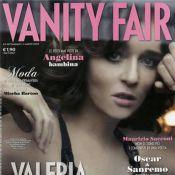 Valeria Golino... so sexy à la une de Vanity Fair !