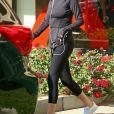 Selena Gomez à la sortie de son cours de Pilates à Los Angeles, le 19 décembre 2017