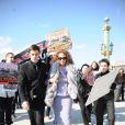 Marisa Berenson au défilé Dior