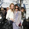 Delphine Arnault et Marisa Berenson au défilé Dior