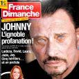 Magazine France Dimanche en kiosques le 22 décembre 2017.
