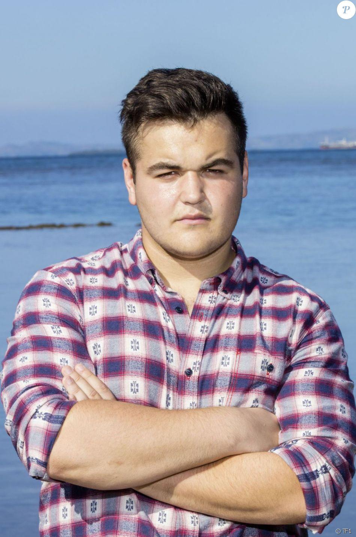 """André, 19 ans, étudiant en commerce et candidat de """"Koh-Lanta Fidji"""" sur TF1."""