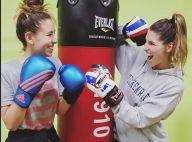 Laury Thilleman : Moment sportif avec sa petite soeur Julie, son sosie !