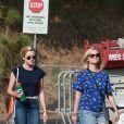 Exclusif - Reese Witherspoon, son mari Jim Toth, sa fille Ava sont allés encourager le petit Tennessee à son match de football à Santa Monica, le 28 octobre 2017