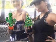 Eva Longoria enceinte : Baby bump en vue et joyeuse réunion avec Olivia Munn