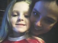 Pauline Ducruet : Tendre photo avec sa petite soeur Linoué pour Noël