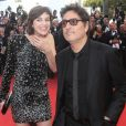 "Charlotte Gainsbourg et son compagnon Yvan Attal - Montée des marches du film ""The Meyerowitz Stories"" lors du 70e Festival International du Film de Cannes. Le 21 mai 2017. © Borde-Jacovides-Moreau / Bestimage"