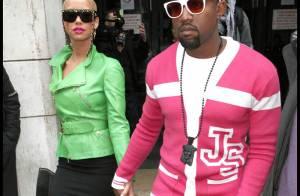 Kanye West et sa nouvelle chérie font l'attraction à la Fashion Week !