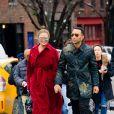 Chrissy Teigen et John Legend à New York. Le 16 décembre 2017.