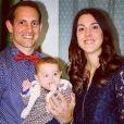 """""""Renaud Lavillenie et sa compagne Anaïs Poumarat - Premières fêtes de fin d'année avec leur fille Iris, 5 mois. Instagram le 31 décembre 2017."""""""
