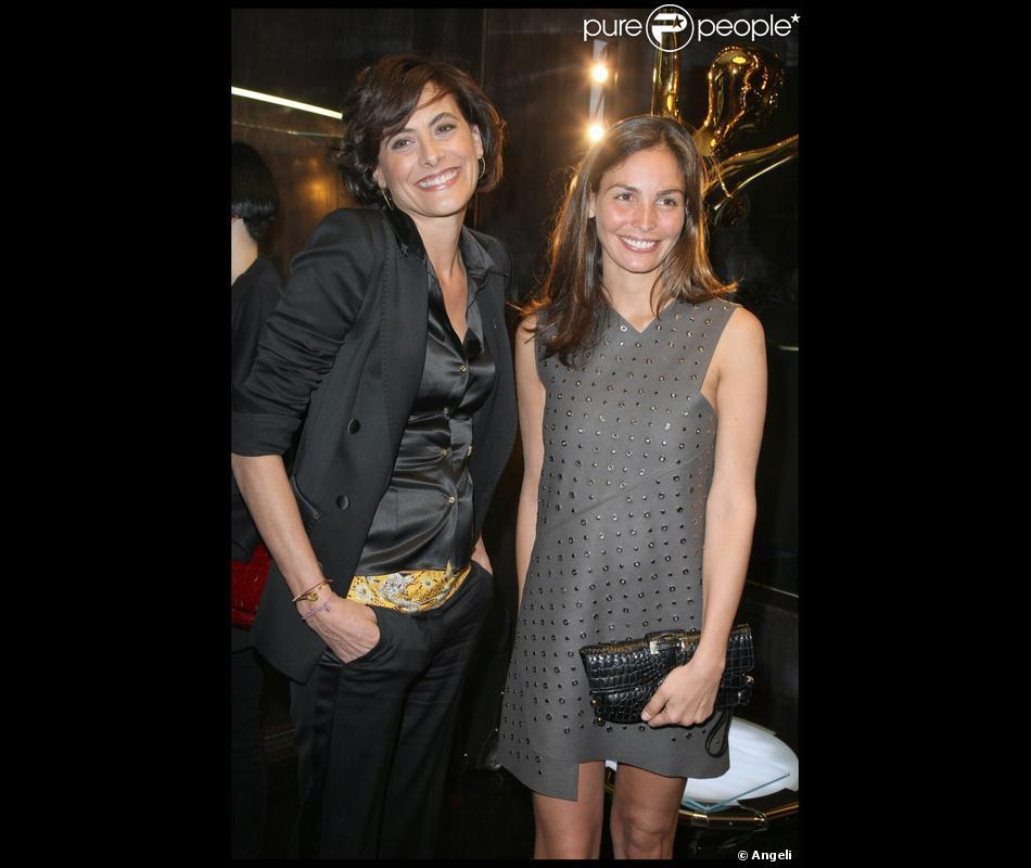 Inès de la Fressange et Inés Sastre à l\'inauguration de la ...