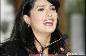 Salma Hayek sera le porte-parole d'une campagne de vaccination contre le tétanos