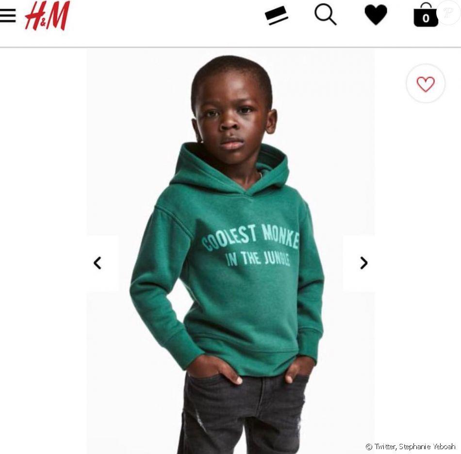 H&M critiqué pour une photo à connotation raciste — Polémique
