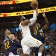 LeBron James lors du match Utah Jazz v Cleveland Cavaliers. Salt Lake City, le 30 décembre 2017.