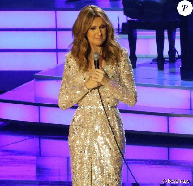 Celine Dion au Ceasars Palace Hotel & Casino à Las Vegas le 27 août 2015