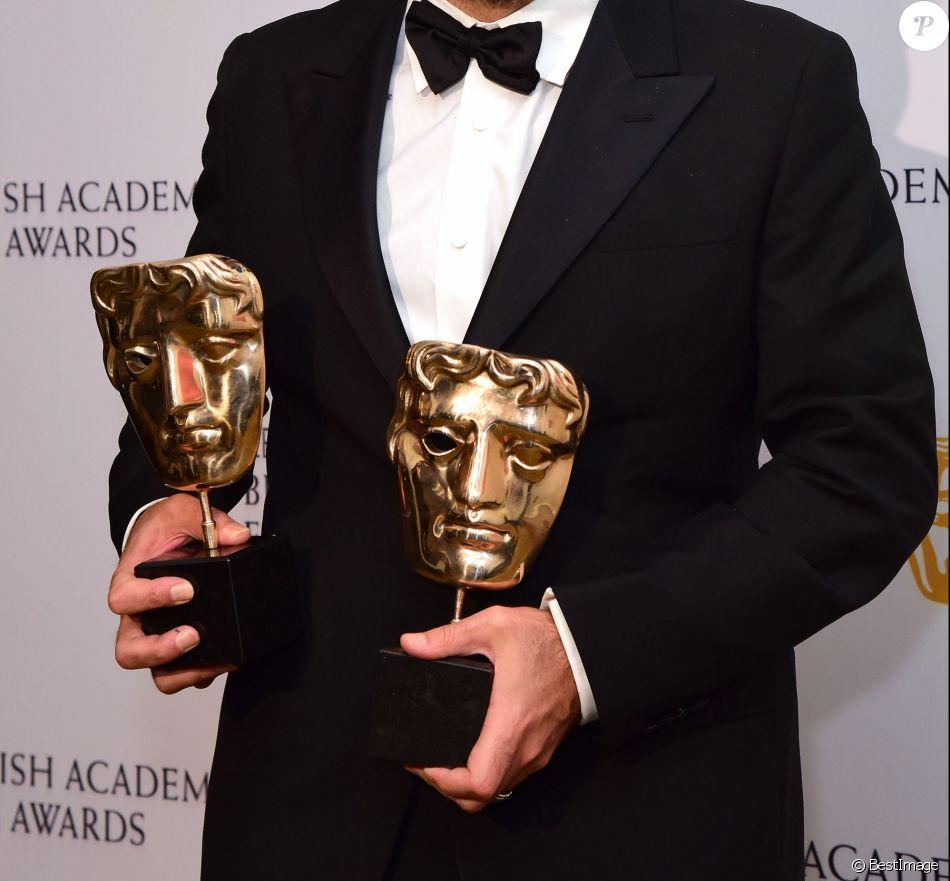 """Alejandro Gonzalez Inarritu (Meilleur film et Meilleur réalisateur """"The Revenant"""") - 69e cérémonie des British Academy Film Awards (BAFTA) à Londres. Le 14 février 2016"""