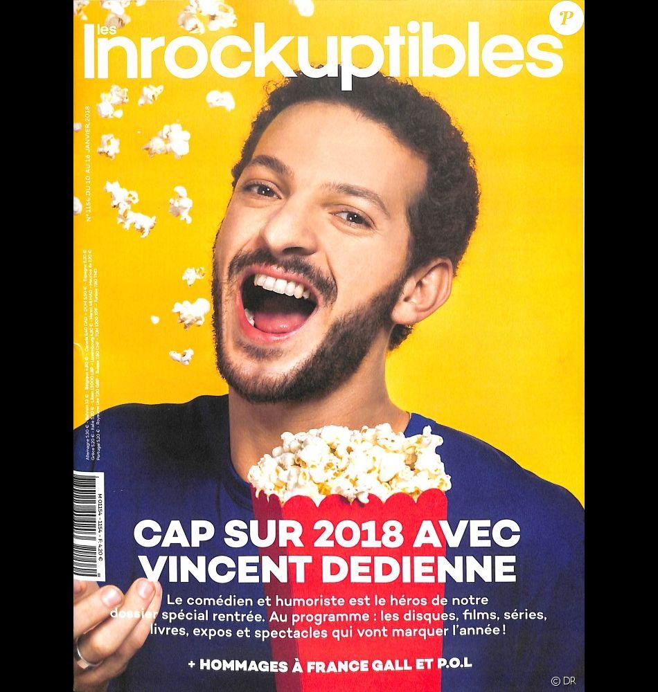 Les Inrockuptibles, en kiosques le 10 janvier 2018.