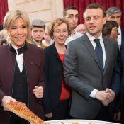 Brigitte et Emmanuel Macron : Retrouvailles gourmandes à l'Elysée
