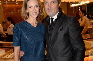 Julie Andrieu et Stéphane Delajoux, gourmands complices chez Pierre Hermé