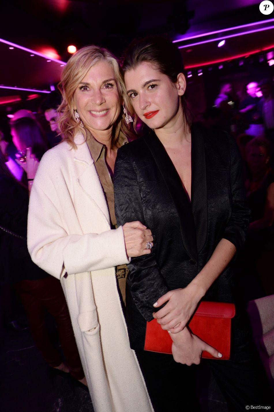 Exclusif - Michèle Laroque et sa fille Oriane Deschamps - After-party du  film Brillantissime