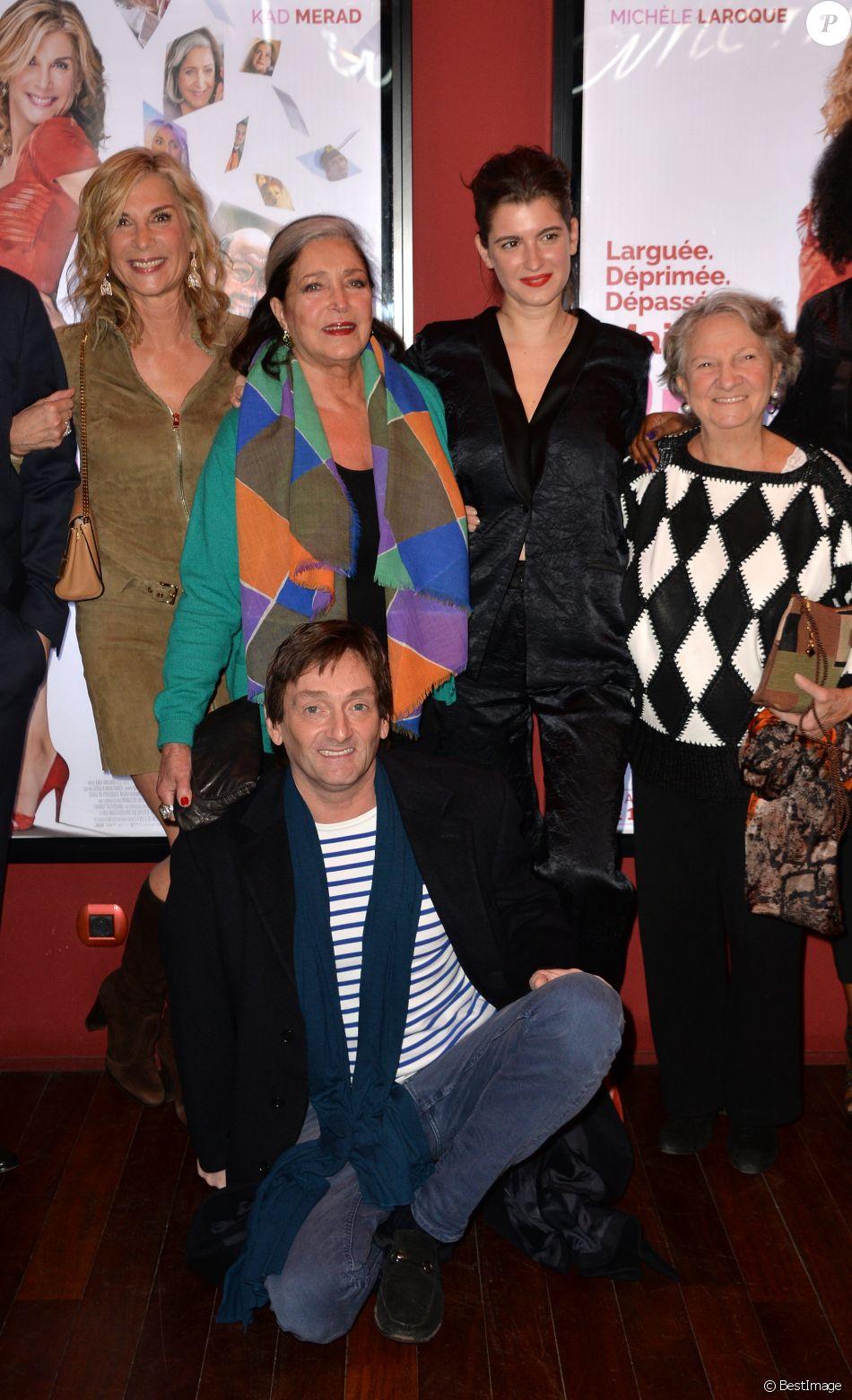 Michèle Laroque, Françoise Fabian, Oriane Deschamps (fille de M.Laroque),
