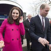 Kate Middleton, enceinte, affiche son baby bump dans un manteau déjà porté