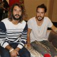 Exclusif - Jérémy Frérot et Florian Delavega - Rendez-vous portrait avec les artistes du 11ème concert de la tolérance à Agadir le 22 octobre 2016.
