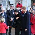 Le prince Harry et Meghan Markle en visite au château de Cardiff le 18 janvier 2018.f