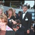 """VICTORIA ABRIL"" - MONTEE DES MARCHES ""THE BRAVE"" 50EME FESTIVAL INTERNATIONAL DU FILM CANNES 1997 12/05/1997"