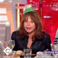 """Victoria Abril invitée dans """"C à vous"""", France 5, jeudi 18 janvier 2018"""